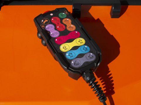 Wired remote control