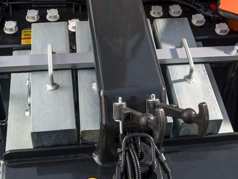 Removable modular counterweight