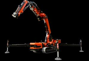Articulated Crawler Cranes