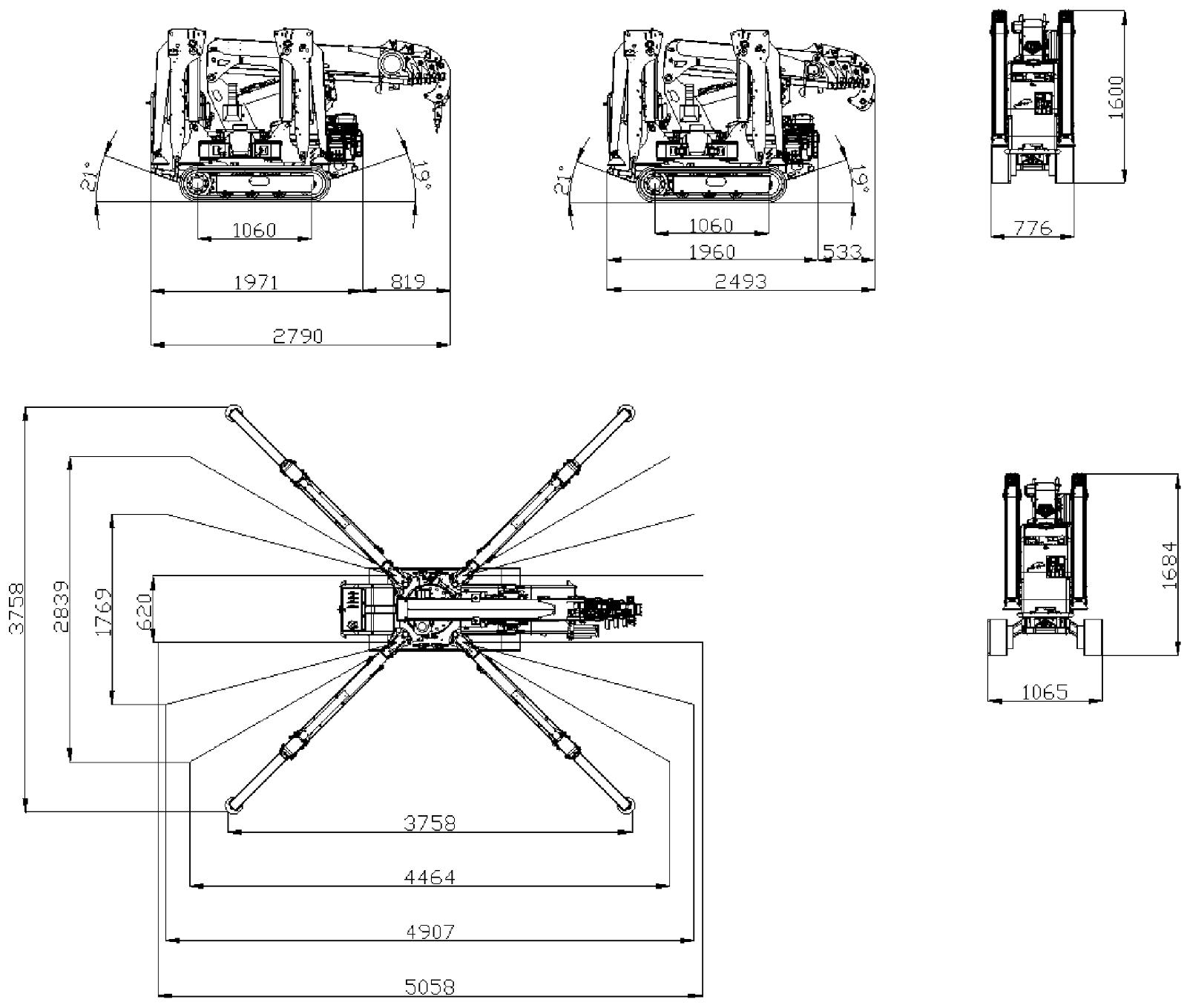 lift mini crane Jekko